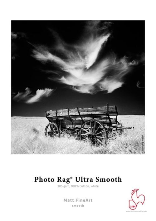 Matte Fine Art - Smooth Photo Rag Ultra Smooth