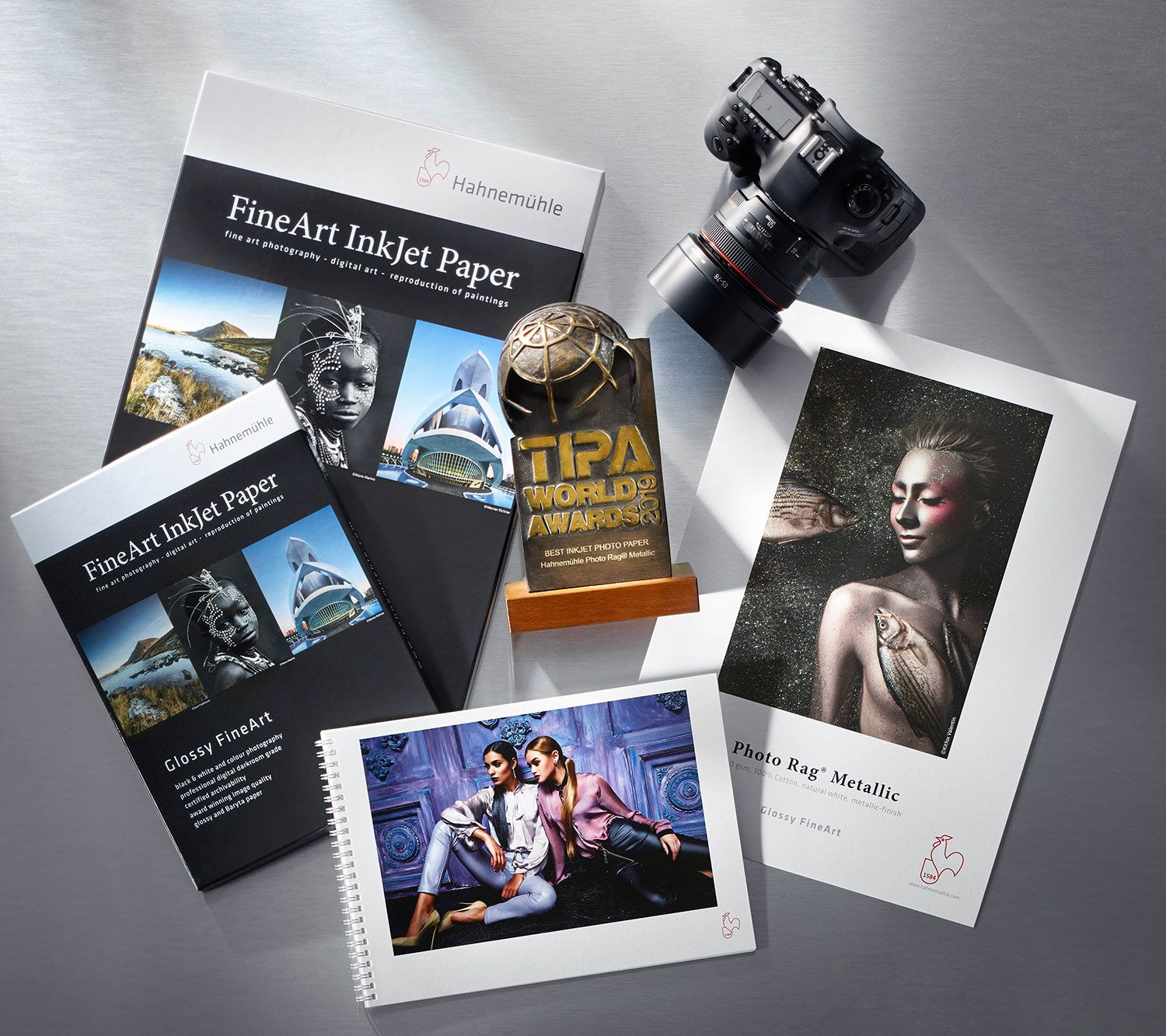 Photo Rag® Metallic winner of the TIPA Award 2019