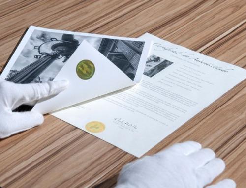 Bescherm jouw kunst, fotoafdrukken en/of reproducties met een Certificate of Authenticity